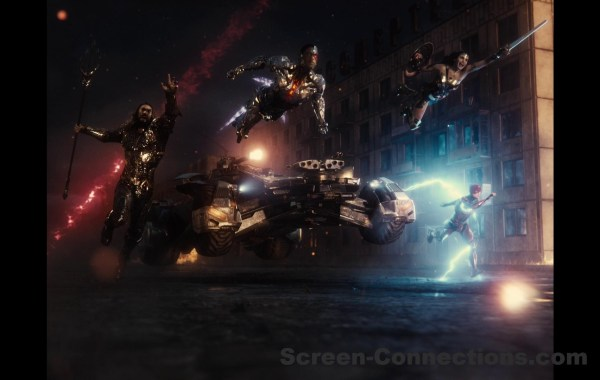 zack snyder's justice league blu ray review