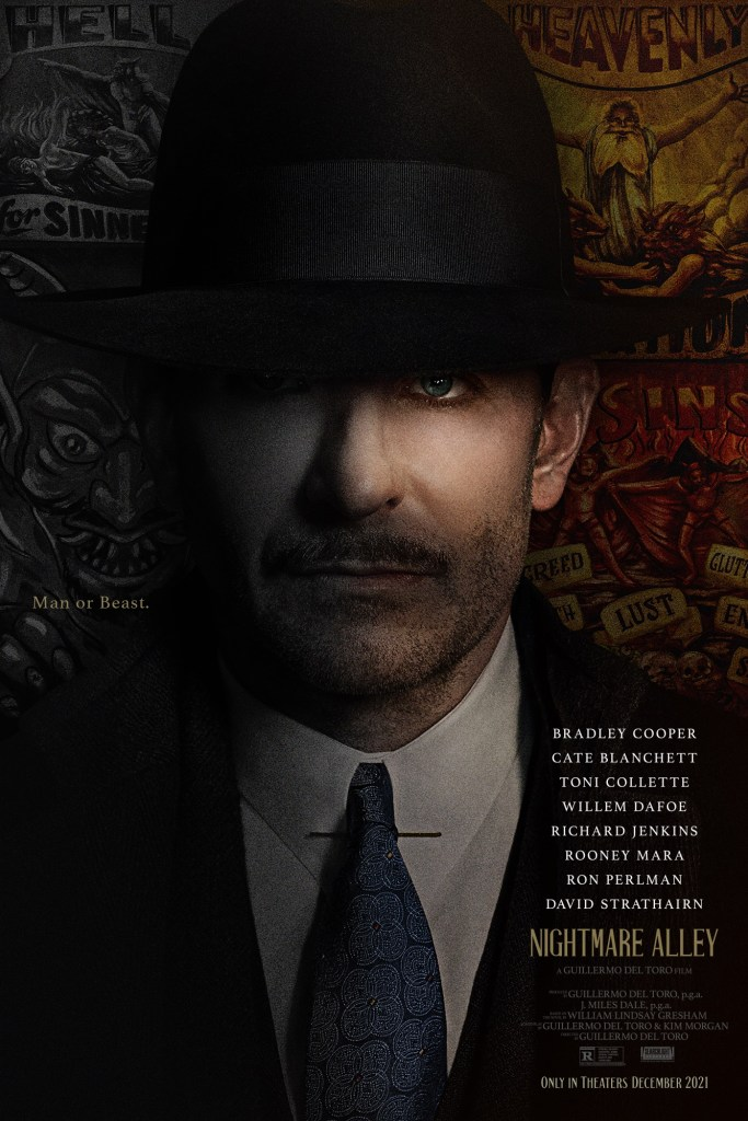 'Nightmare Alley'; The First Trailer & Poster For Guillermo Del Toro's New Film Are Here 2