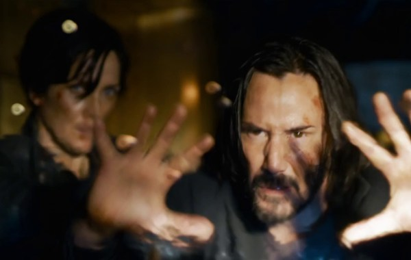 the matrix resurrections, trailer, poster