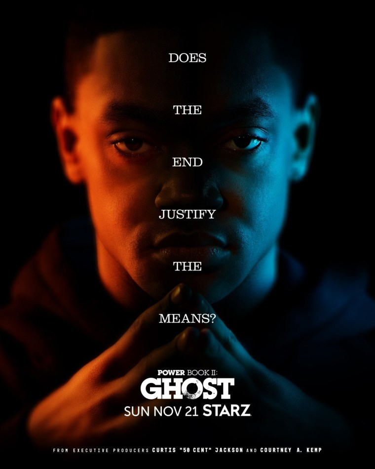 'Power Book II: Ghost' Season 2; The Full Trailer & 6 Posters For The New Season Tease What's To Come 7