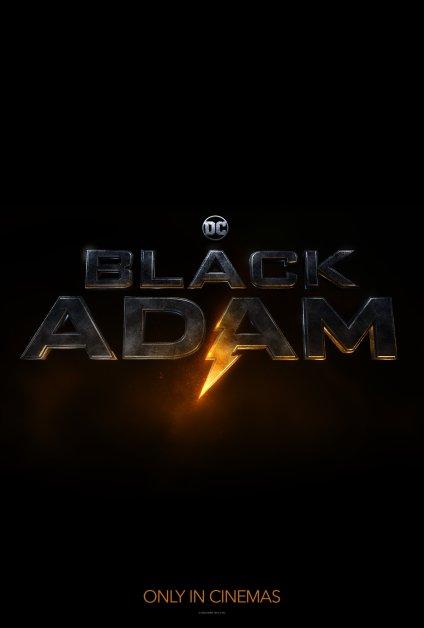 Black Adam logo DC