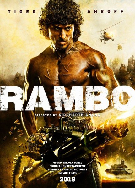 Bollywood RAMBO Remake Signs Tiger Shroff's Perm In Lead Role