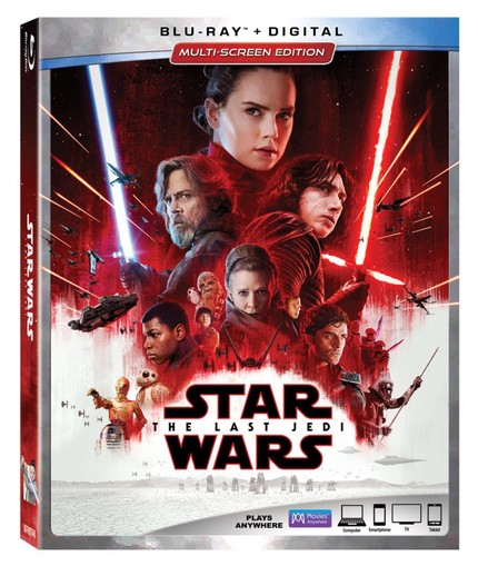 Now on Blu-ray: STAR WARS: THE LAST JEDI Is Worth Another Look On Blu-ray