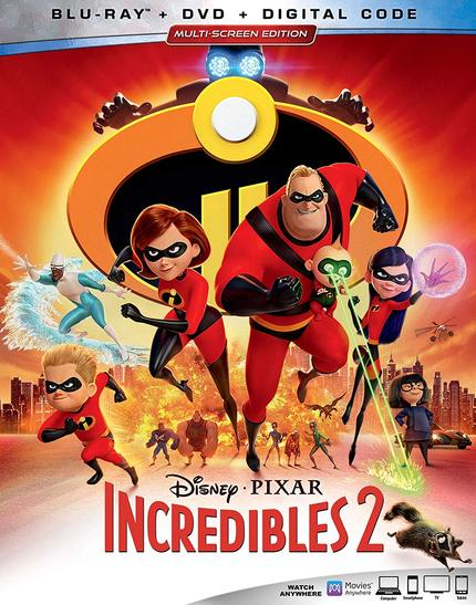 Now on Blu-ray: Brad Bird Does It Again In INCREDIBLES 2