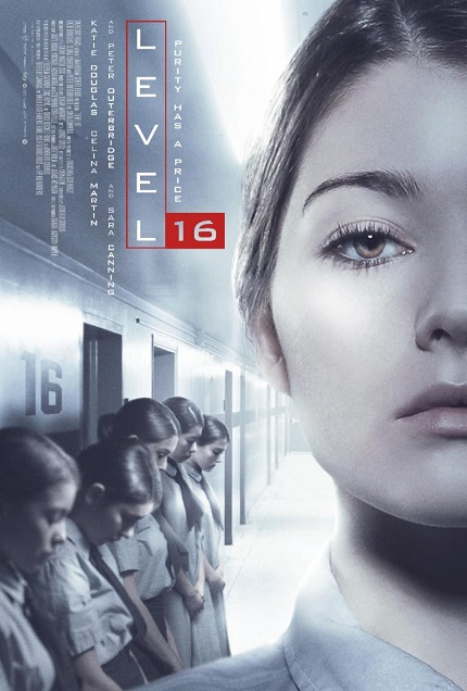 LEVEL 16: Dark Sky And Raven Banner Announce Release Date With a Trailer And Poster Debut For The Canadian Dystopian Thriller