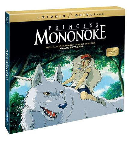 Now on Blu-ray: PRINCESS MONONOKE Collector's Edition Celebrates Ghibli's Breakthrough In The US