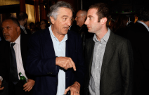 Tiersky with Robert de Niro