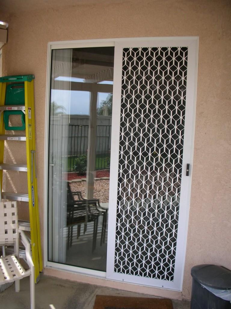 Sliding Security Screen Doors
