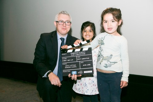 Cllr Paul Godzick (City of Edinburgh Council), Edinburgh Schools Film Competition, 16 June 2016. Photograph: Lloyd Smith © EIFF, Edinburgh International Film Festival All Rights Reserved