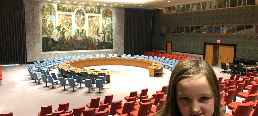 Visiting the United Nations Headquarters in NYC