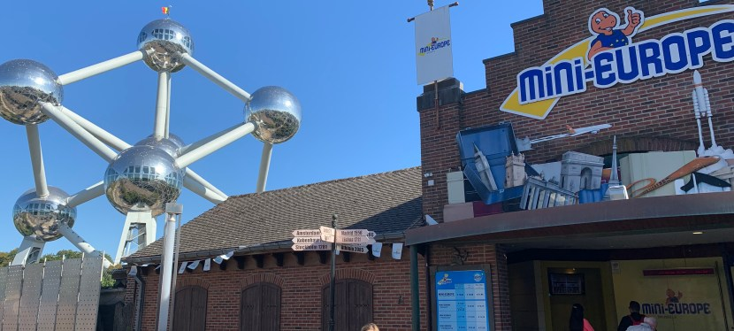 Giant balls of steel, and a European Odyssey – review of the Atomium and Mini Europe in Brussels