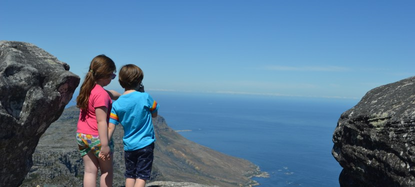 On top of the world – exploring Table Mountain, Cape Town with kids