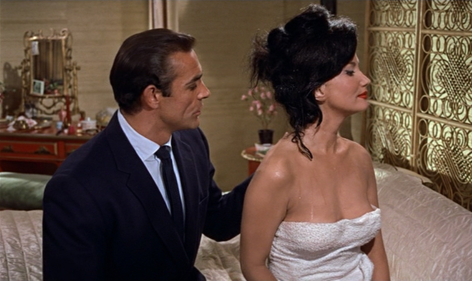 Zena Marshall in Dr. No, Miss Taro in Dr. No
