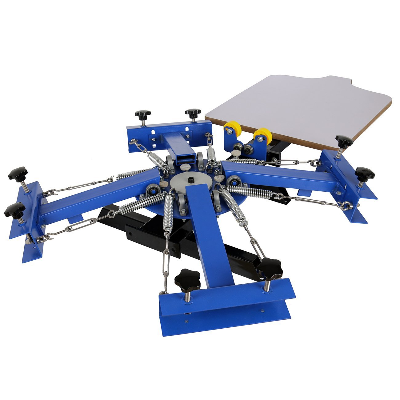 1 Color 1 Station Silk Screen Printing Machine Pressing Wood Glass Printer Diy Business Office Industrial Indianbusinesstrade Com