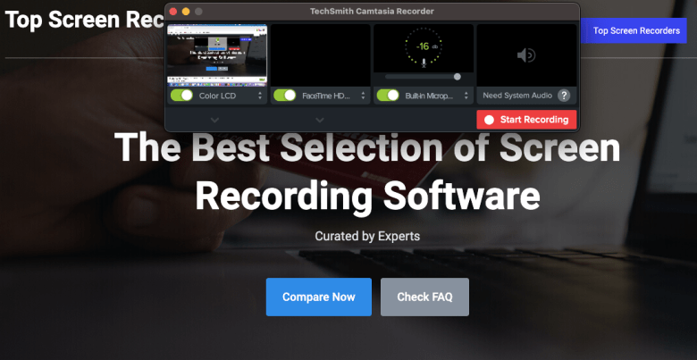 Best Screen Recorder for Windows 10 - Camtasia 2021