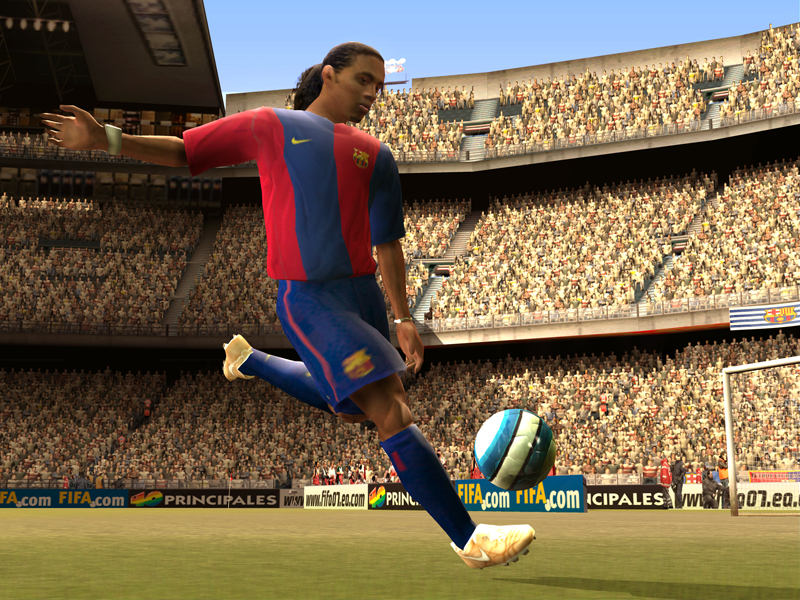 All FIFA 07 Screenshots For PlayStation 2 PSP Xbox