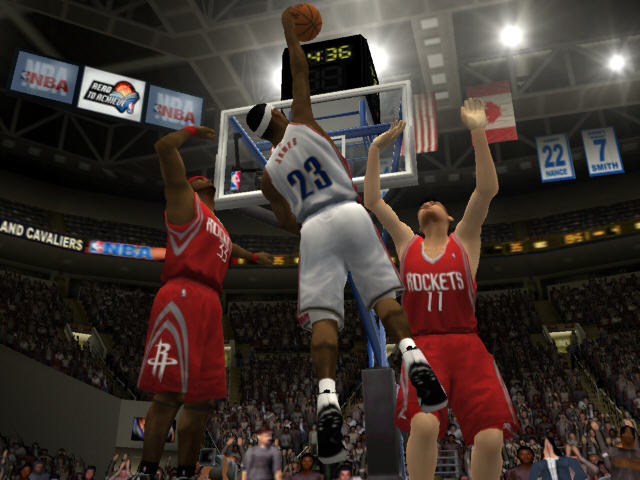 All NBA Live 2004 Screenshots For GameCube PlayStation 2 Xbox PC