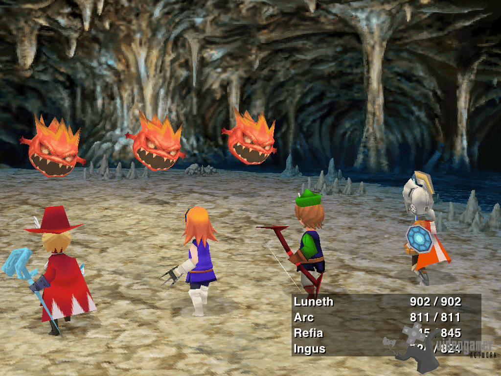 All Final Fantasy III Screenshots For Nintendo DS IPhoneiPad Android