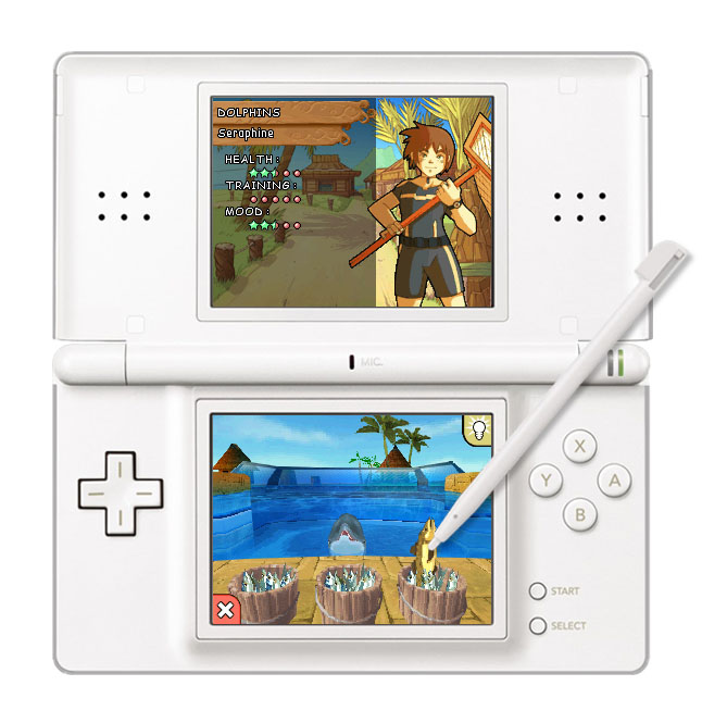 All Dolphin Island Screenshots For Nintendo DS