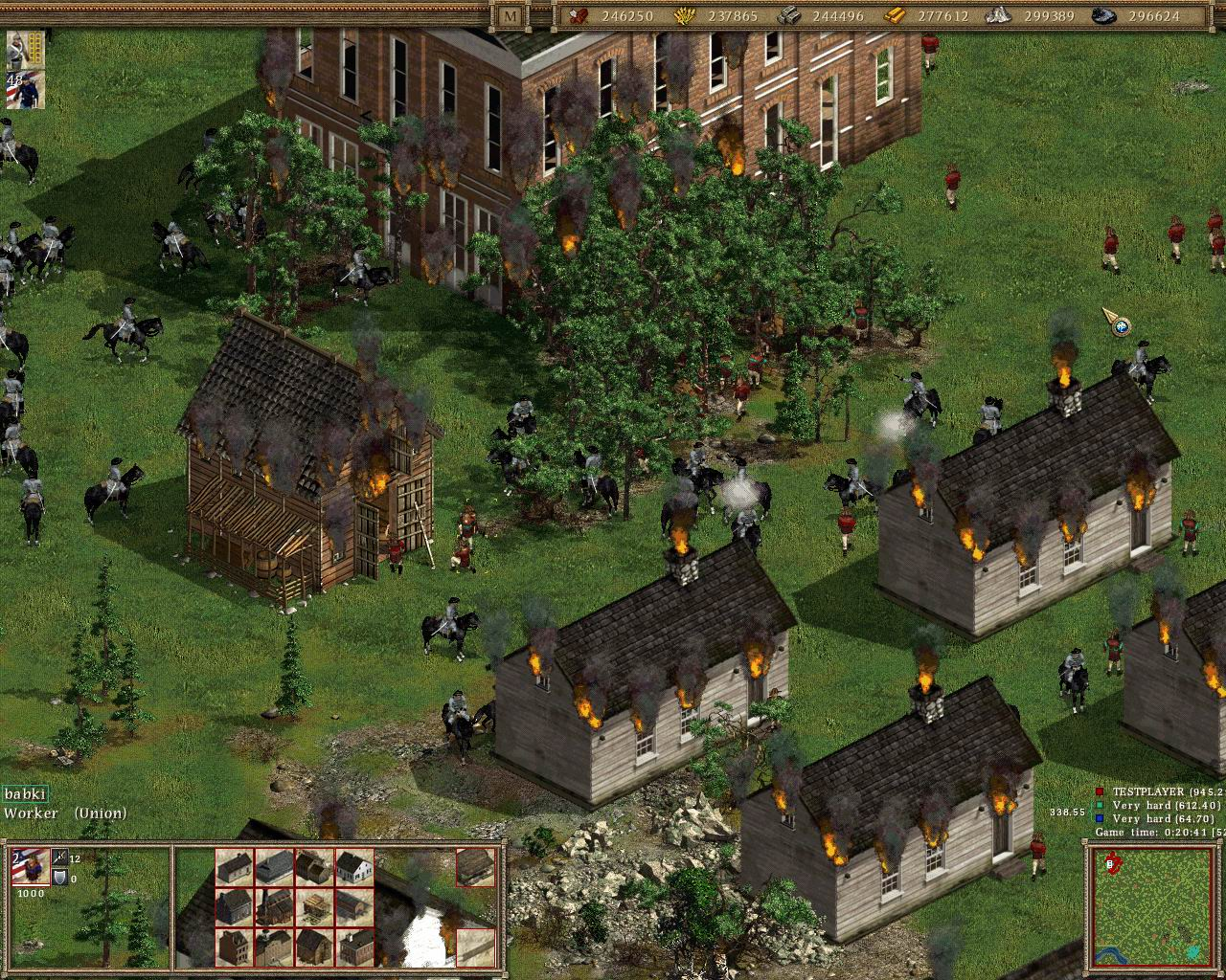 All American Conquest Divided Nation Screenshots For PC