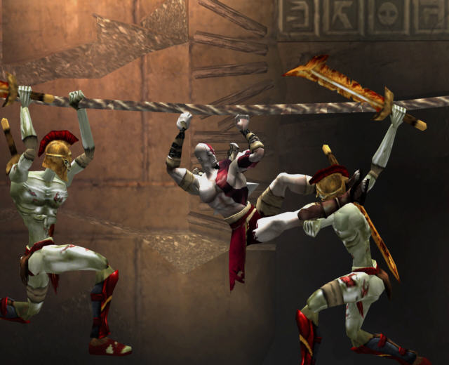 All God Of War Screenshots For PlayStation 2 PlayStation 4