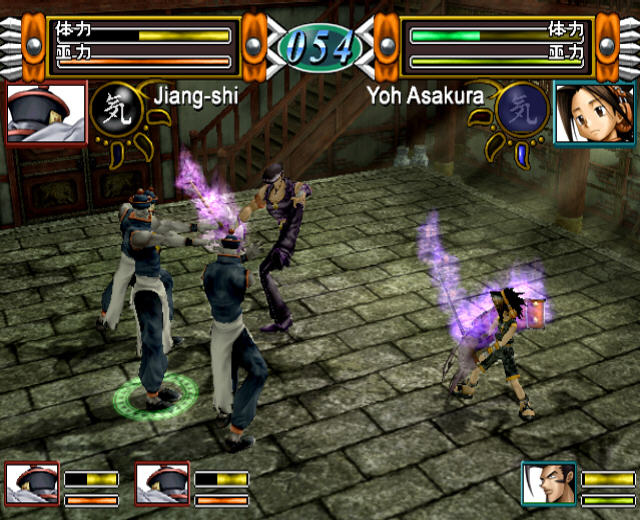All Shaman King Power Of Spirit Screenshots For PlayStation 2