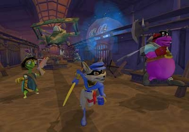 All Sly 2 Band Of Thieves Screenshots For PlayStation 2
