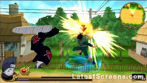 Naruto Shippuden Legends: Akatsuki Rising Screenshots