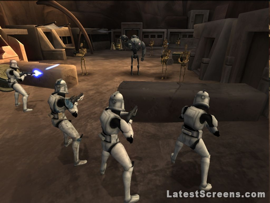 All Star Wars The Clone Wars Republic Heroes Screenshots for Xbox 360 PlayStation 3 Wii PSP