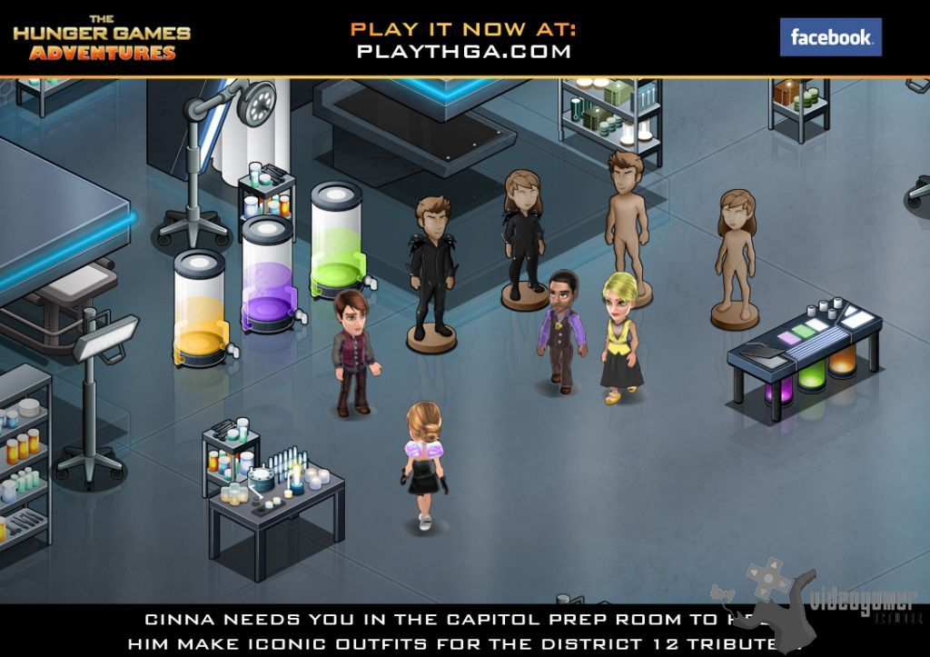 All The Hunger Games Adventures Screenshots For FaceBook