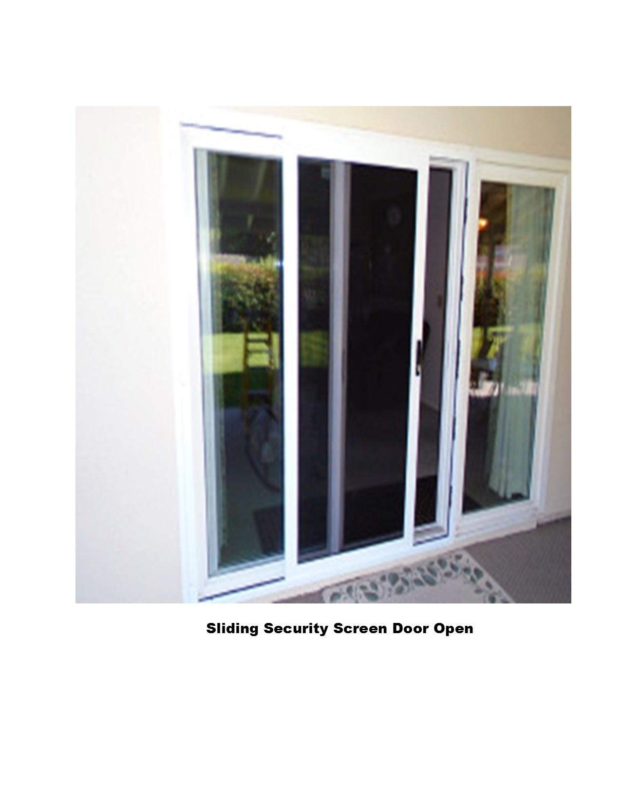 NEW!!! Sliding Security Screen Doors  Screens 4 Less