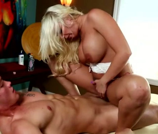 Hot Like Fire Blond Bitch With Big Tits Rides Massive Cock Of Her Guy Greedily