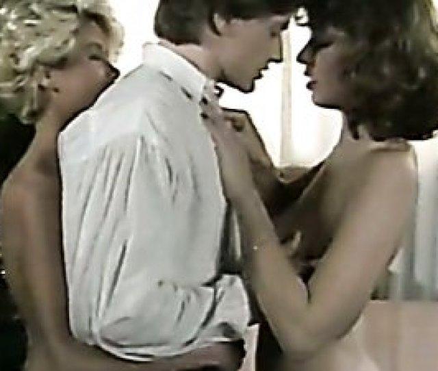 Kinky Boss Fucks Secretary Christy Canyon And Her Lesbian Girlfriend In Vintage Sex Scene