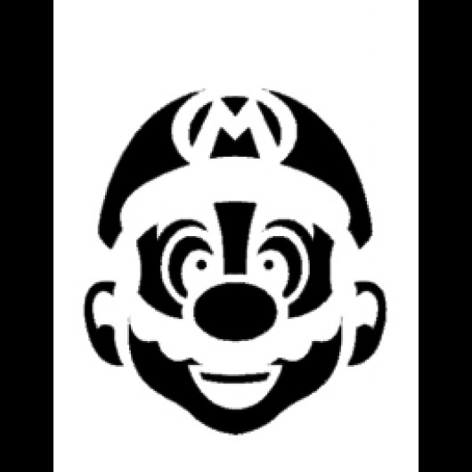 Mario Stencil [Counter-Strike: Source] [Sprays]
