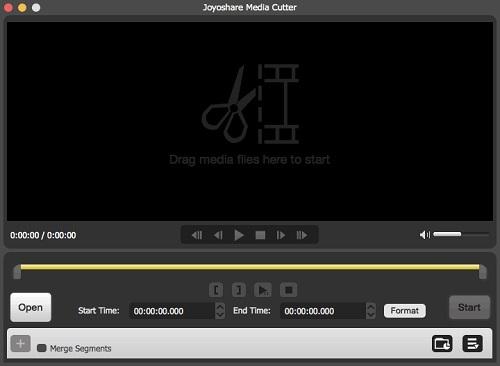 Joyoshare Media Cutter for Mac 3.2.1.45 破解版 - 视频剪切编辑应用