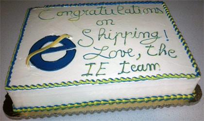 Microsoft gratuliert Firefox-Team