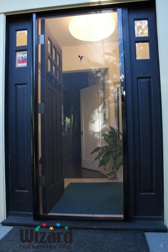 Single Screen Door