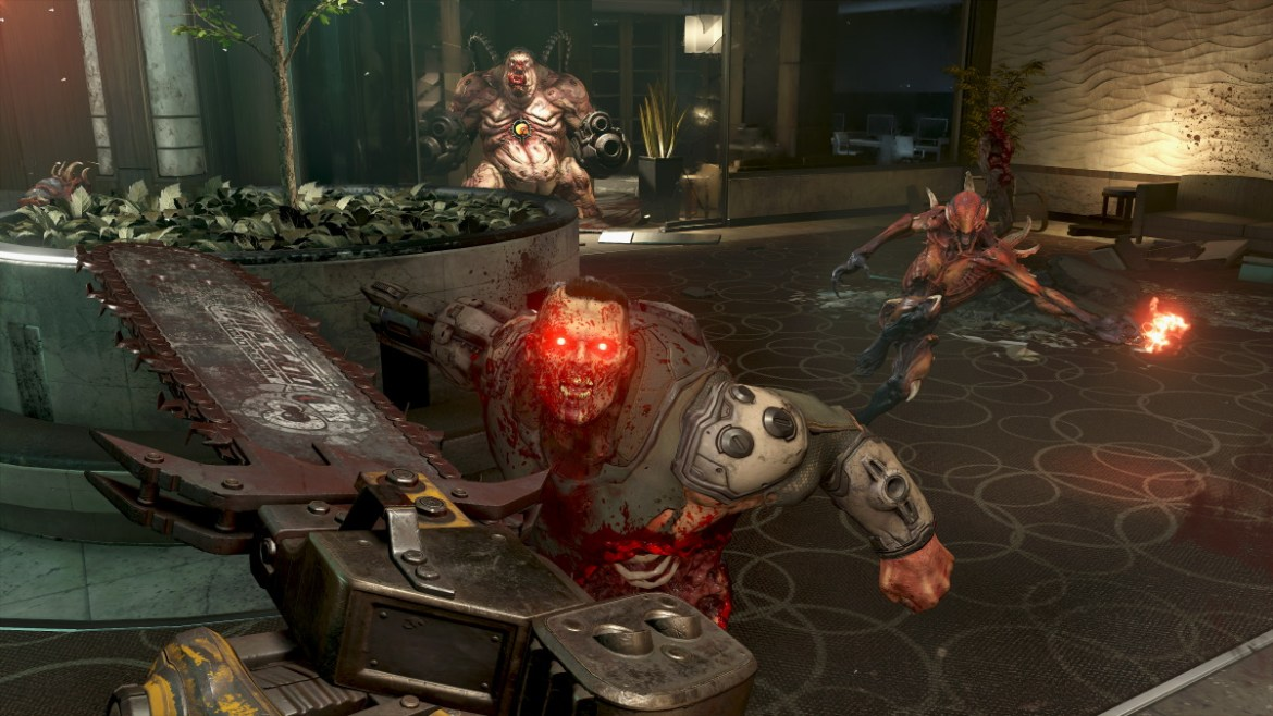 doom eternal funciona a 60 fps en todas las consolas excepto switch