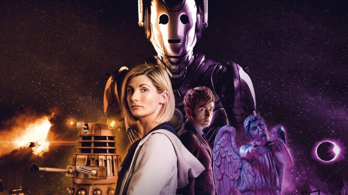 Doctor Who: The Edge Of Reality llega en septiembre con Jodie Whittaker y David Tennant