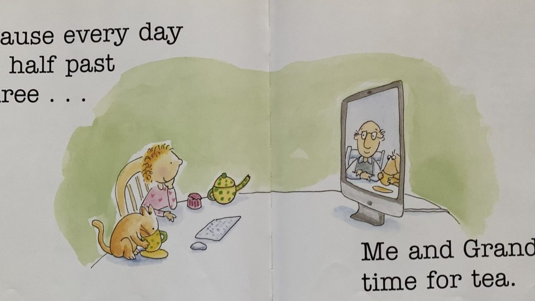 """""""'Cause every day at half past three...Me and Grandpa, time for tea."""""""