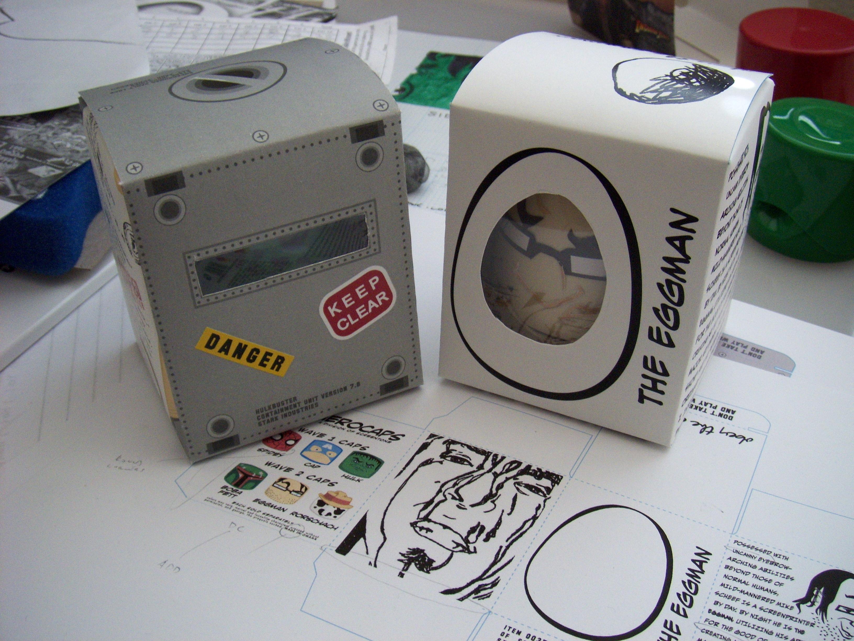 toys & package design, digital, 2009