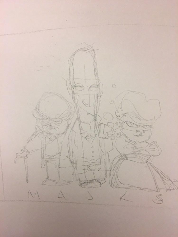 inktober-day-30-maskssketch