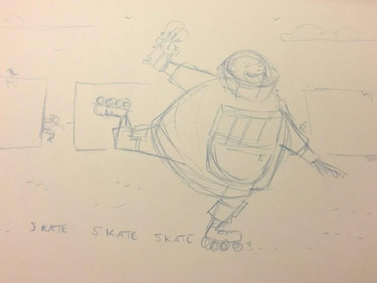 14mgs2-inktober-clock-sketch