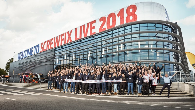 Screwfix Live is open for business