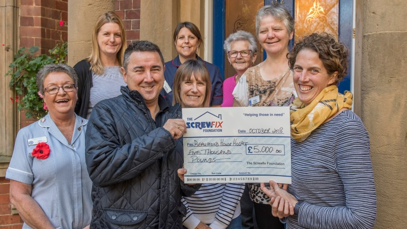 Tradespeople and DIYers help support charities with much-needed makeovers