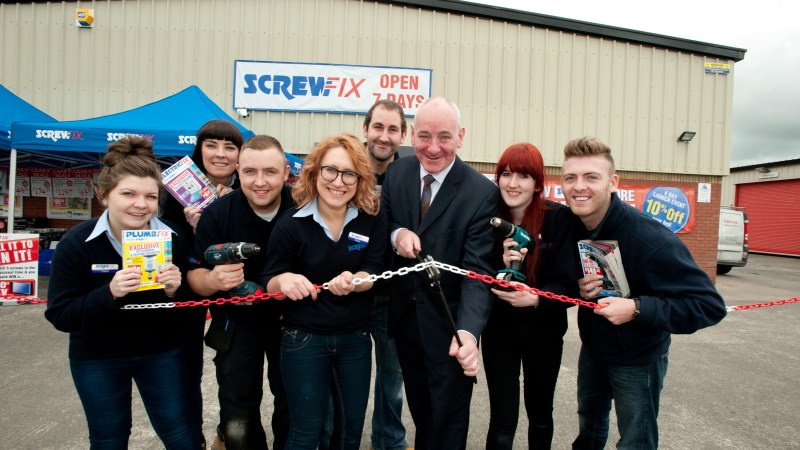 Screwfix Sets Up Shop In Northern Ireland With Four New Stores