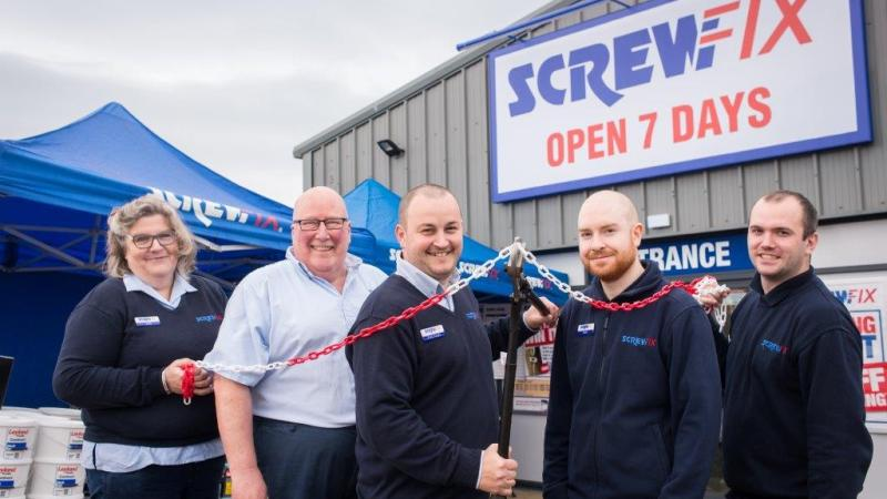 Cromer's first Screwfix store is declared a runaway success
