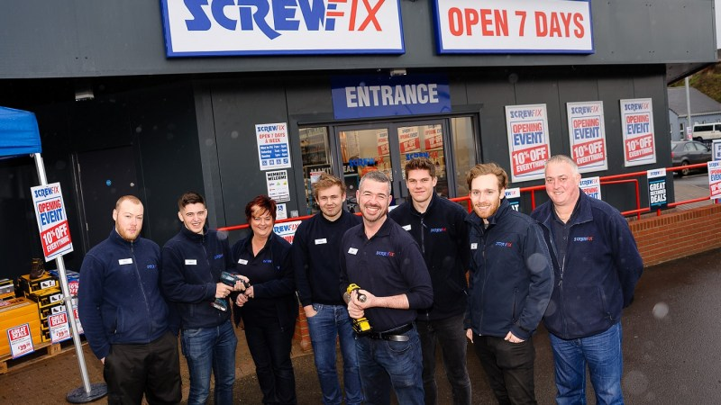 Omagh Screwfix Store is declared a runaway success