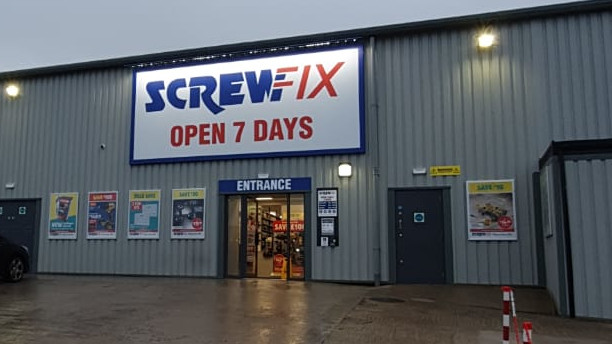 Screwfix opens its doors in Garforth