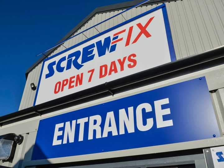 Screwfix: Trusted by the trade for 40 years